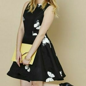 Ax Paris Butterfly Skater Dress New with Tags